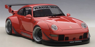 AUTOart Porsche RWB 993 (RED/GUN GREY WHEELS) 1:18 - 78153