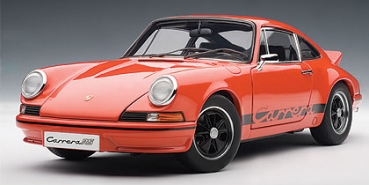 AutoArt Porsche 911 Carrera RS 2.7 1973 orange-schwarz 1:18 78054