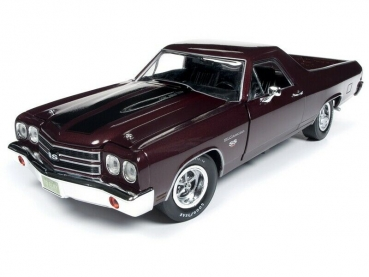 Autoworld Chevy El Camino 1970 Pick Up violett 1:18 AMM1161 Chevrolet