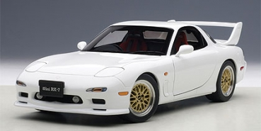 AUTOart MAZDA ɛ̃fini RX-7(FD) 1991 TUNED VERSION weiss 1:18 75967
