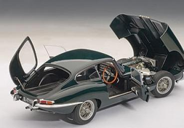 Modellbau Jaguar ~ Modellbau klar.de autoart jaguar e type coupe series i 3.8 green