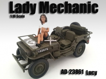 American Diorama 23861 Figur Mechanikerin Lady Mechanic - Lucy 1:18 limitiert 1/1000