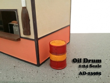 American Diorama 23985 Oil Drum (set of 2) 1:24 limited 1/1000