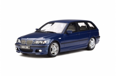 Otto Models 251 BMW 330i (E46) Touring M Pack 1:18 blau 1/2000
