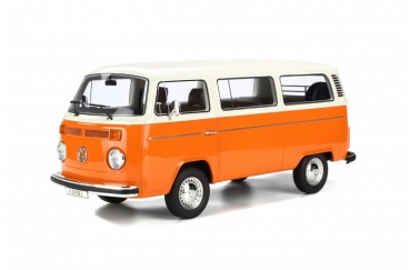 Otto Models G026 VW Bus T2 Bulli Kombi 1978 orange-weiss 1:12 limited 1/999 Volkswagen
