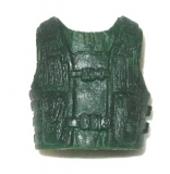 Tactical Combat Vest: Green MEDIUM Size (1) - 1:18 Scale Accessory for 3 3/4 Inch Action Figures