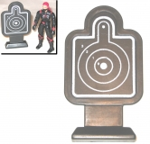 "Rifle Range ""Silhouette"" Target (1) - 1:18 Scale Accessory for 3 3/4 Inch Action Figures"