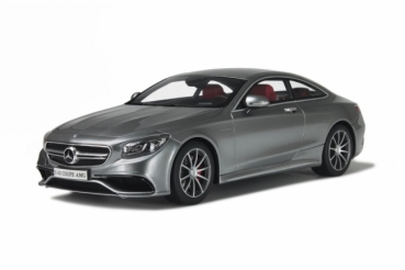 GT Spirit 063 Mercedes AMG S63 Coupe grau 1:18 - limited 1/1000