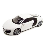 Kyosho Audi R8 2007 weiss 1:18