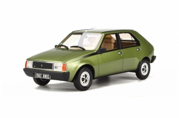 Otto Models 712 Renault 14 TS 1983 green 1:18 limited 1/999
