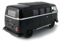 Greenlight 1962 Volkswagen Microbus w/hardtop *Black Bandit Collection*  1:18 limited