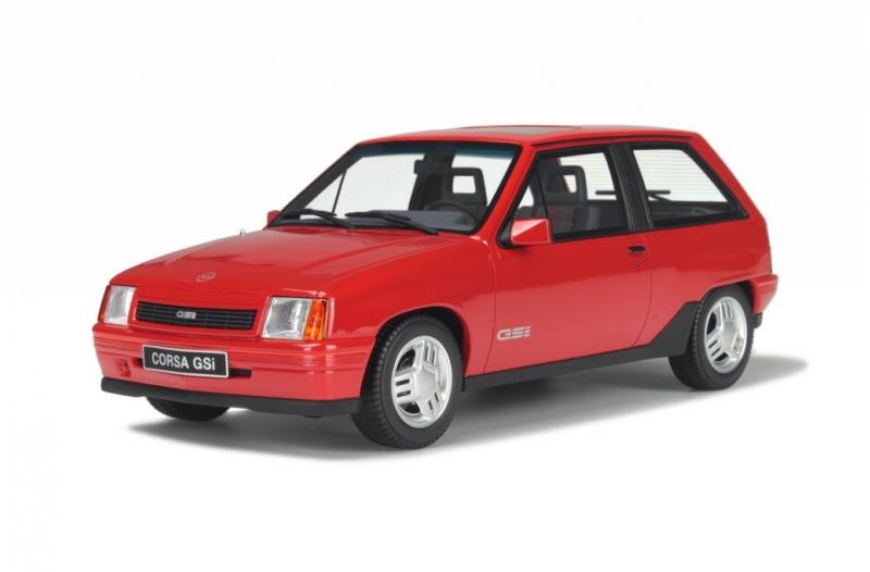 Modellbau Klarde Otto Models 180 Opel Corsa A Gsi 1987 Rot 118 1