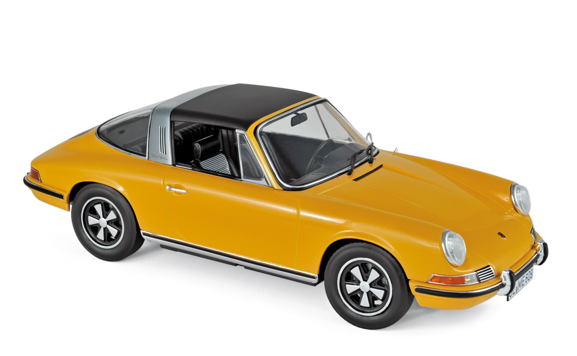 Norev 187632 Porsche 911 S Targa 1973 grün 1:18 Modellauto