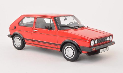 modellbau welly vw golf i gti rot 1 18 18039. Black Bedroom Furniture Sets. Home Design Ideas