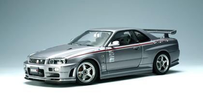 modellbau autoart nissan skyline gt r r34 2000. Black Bedroom Furniture Sets. Home Design Ideas