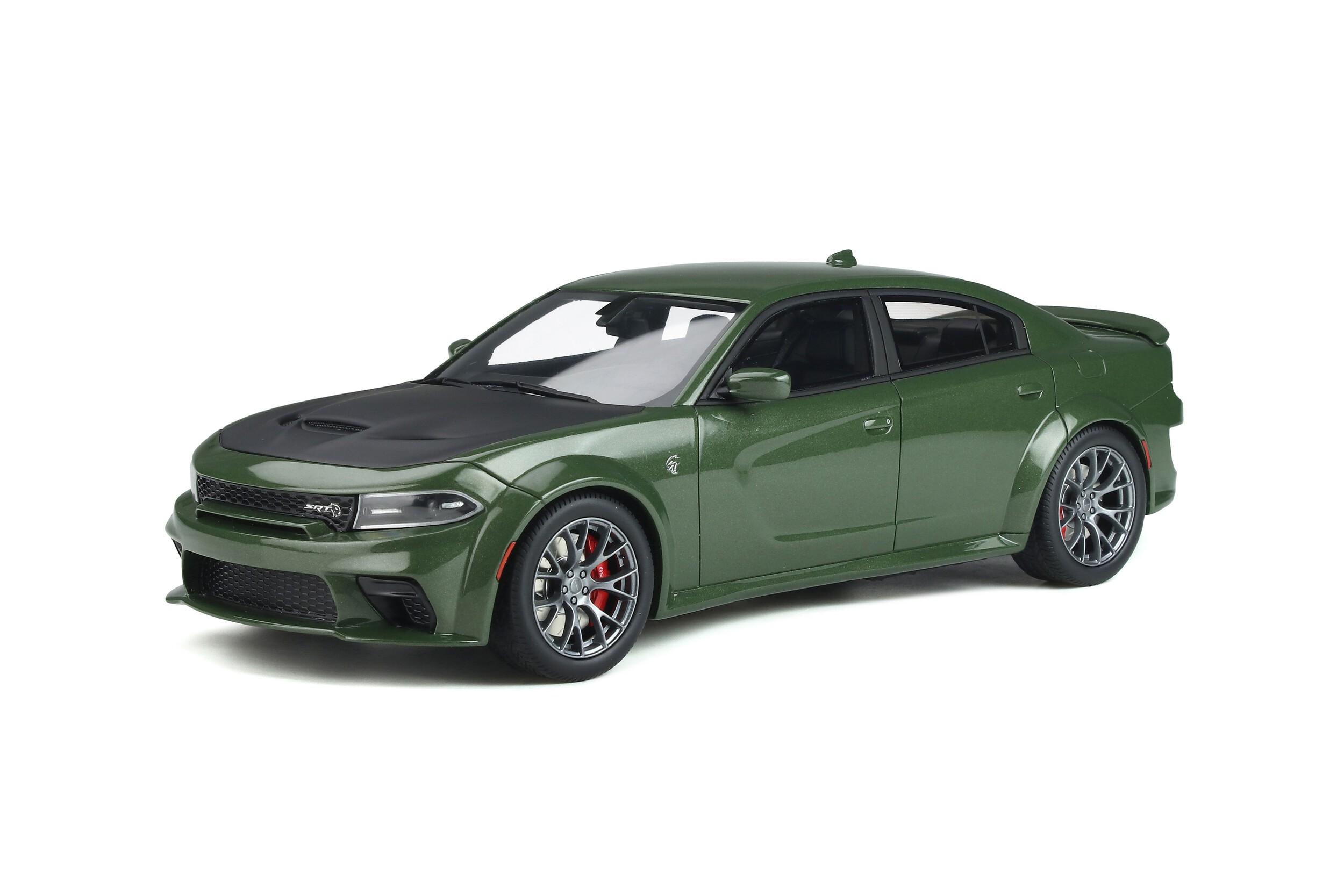 dodge gt charger modellbau-klar.de - GT Spirit 2 Dodge Charger SRT 2 Hellcat
