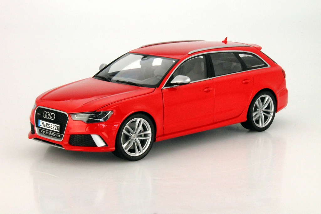 modellbau minichamps audi rs6 avant misano rot 1. Black Bedroom Furniture Sets. Home Design Ideas