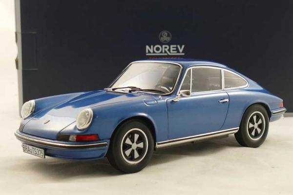 Porsche 911 S • 1973 • NEU • Norev 187641 • 1:18