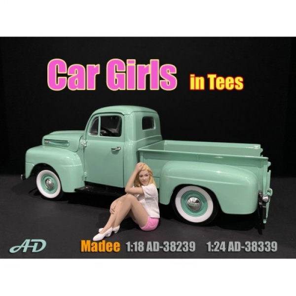 American Diorama 38239 Madee Frau 1:18 Figur 1/1000 Car Girls in tees