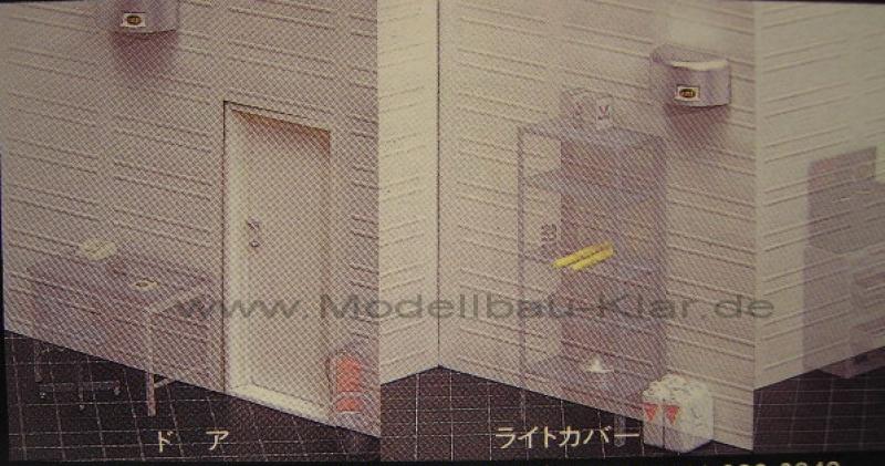 Fujimi 116358 Garage /& Tools Werkstatt inkl Einrichtung Hebebühne 1:24