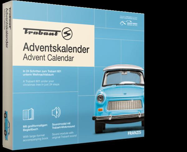 Trabant Adventskalender 2020 Trabant 601 blau 1:43 Franzis