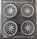 SD Felgen 18 Zoll Rotiform Concave Lambo Style silber 34mm