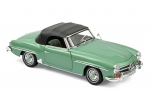 Norev 183401 Mercedes-Benz 190 SL 1957 light green metallic 1:18 W121 Modellauto