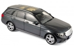 Norev 183475 Mercedes Benz C-Class Estate 2014 grey metallic 1:18