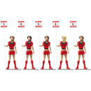 Carrera Grid Ladies Figuren 1:32 21123