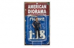 American Diorama 23838 Figur Officer - Harry 1:24 limitiert 1/1000