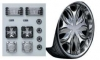 Aoshima VipCar Parts No 8 mit Felgen Mega Rim 22 Zoll 29mm + Audio Zubeh�r