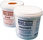 Magic Sculp® 9,0 kg-Gebinde - 4500g Harz + 4500g Härter weiss