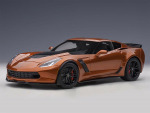 AutoArt 71259 CHEVROLET CORVETTE C7 Z06 1:18 daytona sunrise orange Modelcar