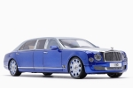 Almost Real Bentley Mulsanne Grand Limousine 1:18 Silber Frost Moroccan Blau