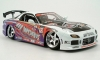 Jadatoys Mazda RX-7 weiss + Decals 1:18 Option D