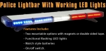 ACME 1800146 Police lightbar flashing LED 1:18 Polizei Blinklicht rot-blau
