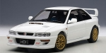 AutoArt SUBARU IMPREZA 22B weiss UPGRADED VERSION 1:18 78605 limitiert 1/1500