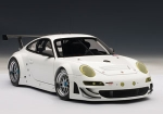 AUTOart PORSCHE 911(997) GT3 RSR 2010 PLAIN BODY VERSION weiss 1:18 81073